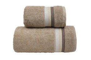 OMBRE  BEŻOWY ręcznik bawełniany FROTEX