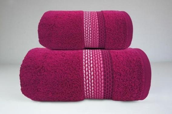 OMBRE FUKSJA ręcznik bawełniany FROTEX