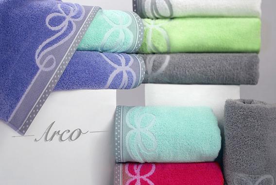ARCO POPIELATY ręcznik bawełniany GRENO