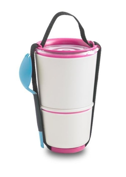 BB - Pojemnik Lunch Pot, różowo-niebieski