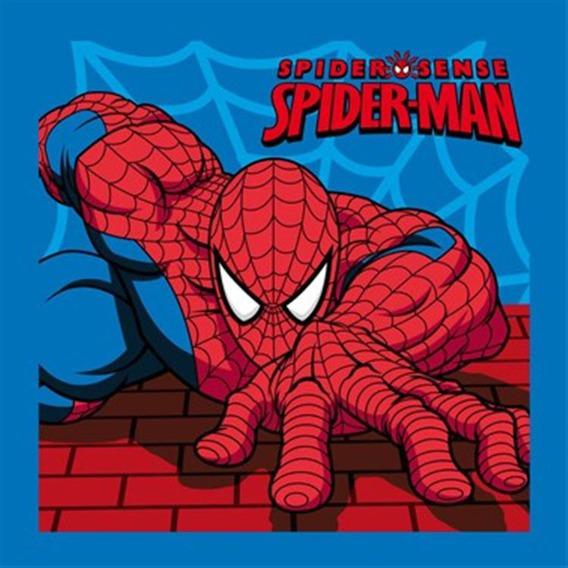 Bajkowy ręcznik 30x30 Detexpol Spiderman
