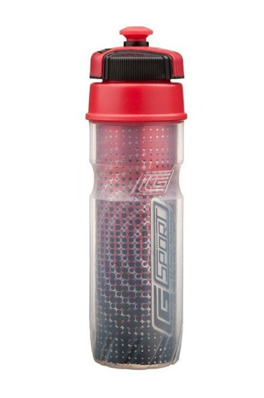Bidon - butelka do picia MARATHON Cool Gear, 4 kolory czerwony