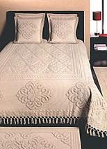 CLARISSE Narzuta bawełniana Greno naturalna bawełna