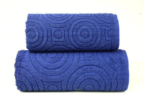 EMMA 2  GRANATOWY ręcznik bawełniany GRENO