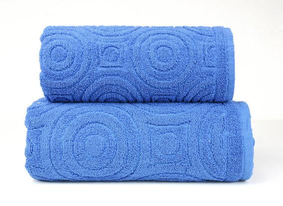 EMMA 2  NIEBIESKI ręcznik bawełniany GRENO