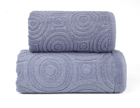 Emma 2 Popielaty ręcznik bawełniany Greno