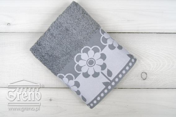 FIORI biały ręcznik bawełniany FROTEX