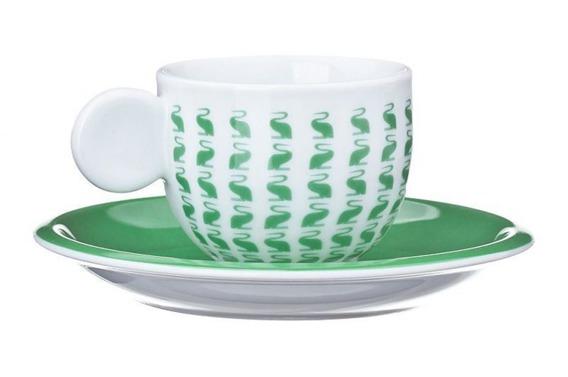 Filiżanka do espresso AIRONI United Colors of Benetton, 4 kolory zielony