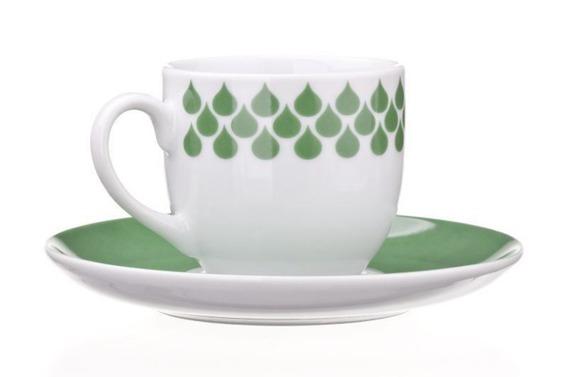 Filiżanka do espresso DROPS United Colors of Benetton, 4 kolory zielony