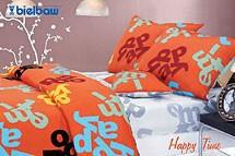 HAPPY TIME Pościel satynowa Bielbaw