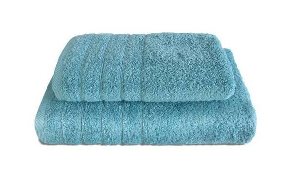 Komplet ręczników ELEGANT 2 szt. Morski Niebieski