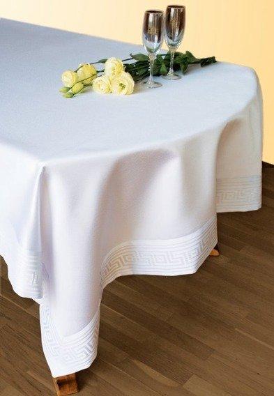 Obrus teflonowany GREEK Greno biały