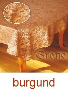 Obrus żakardowy ROYAL Greno burgund