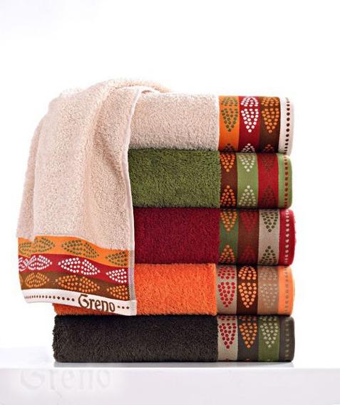 Ręcznik  AFRICA Greno bordowy