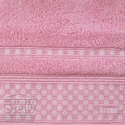 Ręcznik AMARANTE Greno różowy