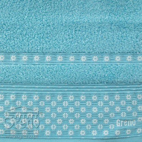 Ręcznik AMARANTE Greno turkusowy