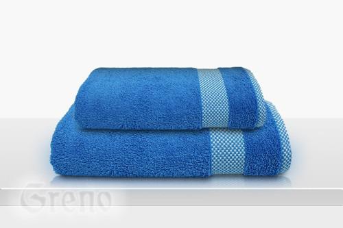 Ręcznik Bawełniany GRINGO Frotex niebieski