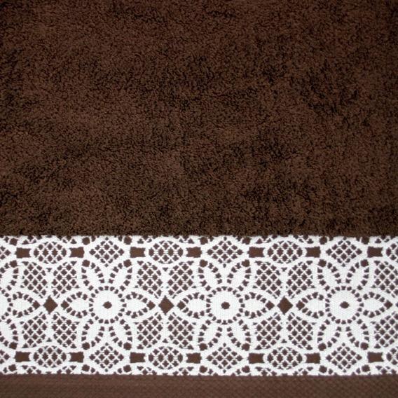 Ręcznik Bawełniany ILLUSION Greno brązowy