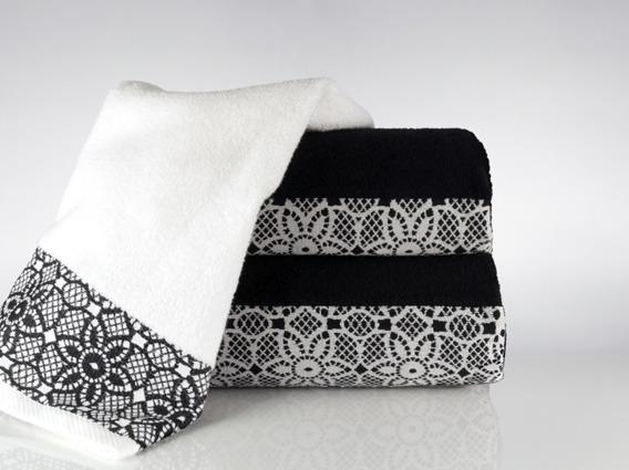 Ręcznik Bawełniany ILLUSION Greno czarny