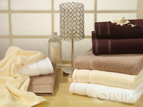Ręcznik Bawełniany SPA LOVER GRENO biały