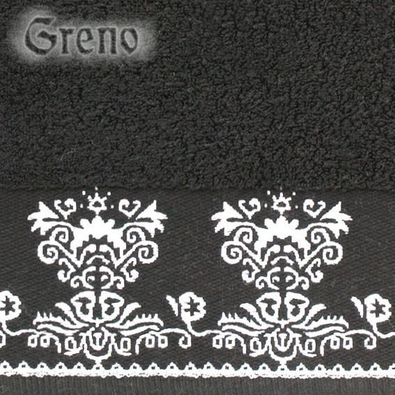 Ręcznik FANTASY Greno czarny