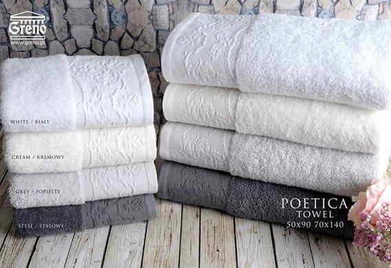 Ręcznik POETICA Greno stalowy
