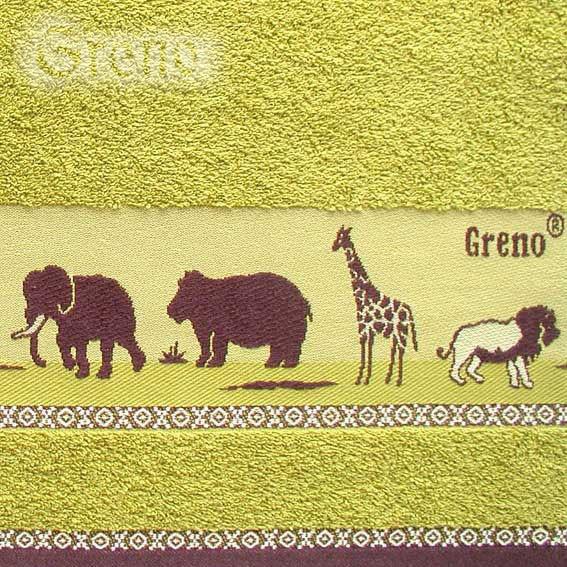 Ręcznik SAWANNA Greno zielony