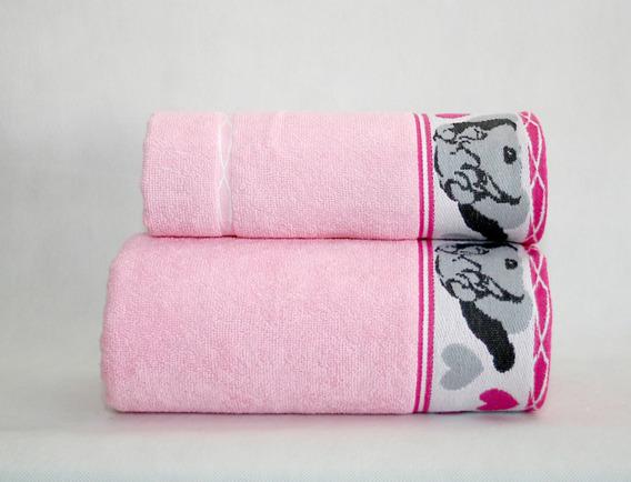 Ręcznik SHARP PEI Greno różowy