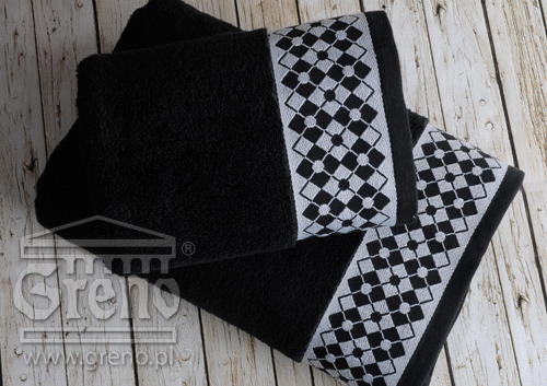 Ręcznik WILLIAM Greno czarny