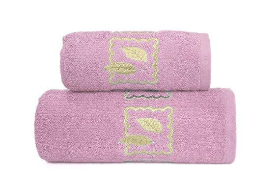 Ręcznik bawełniany GRACJA Greno różowy