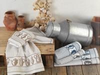 Ręcznik kuchenny SYCYLI Greno, 3 kolory granatowy