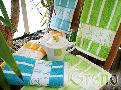 Ręcznik kuchenny TEA POT Greno zielony