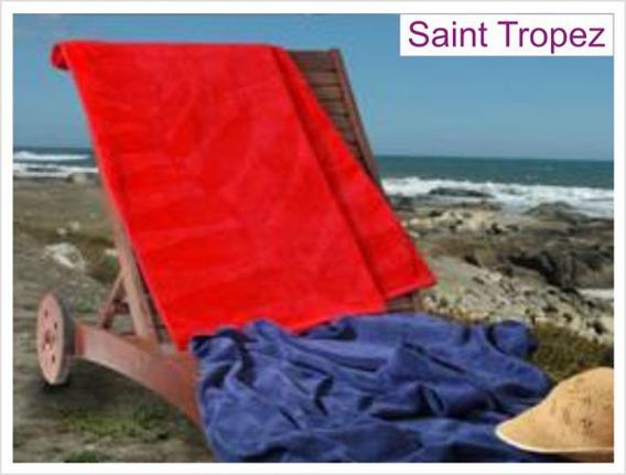 Ręcznik plażowy SAINT TROPEZ, 2 kolory Greno czerwony
