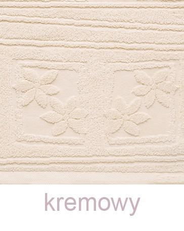 Ręcznik z mikrobawełny Laura GRENO kremowy