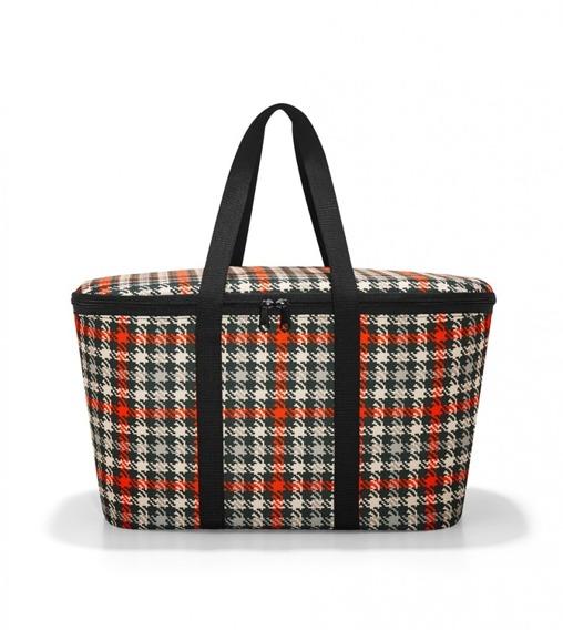 torba coolerbag glencheck red